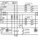 Схема машинного телеграфа с индукционной репитерной системой. Устройство сельсинов