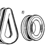 Конструкция такелажных цепей, скоб, талрепов, коушей