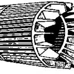 Конструкция и принцип действия асинхронного короткозамкнутого электродвигателя.