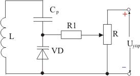 Схема включения варикапа в колебательный контур