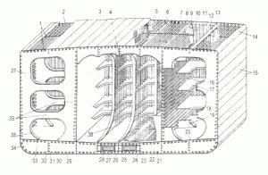 Продольная система набора корпуса танкера