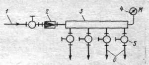 Схема системы паротушения