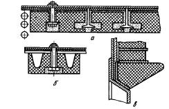 Способы крепления кирпичей различной формы к каркасу котла
