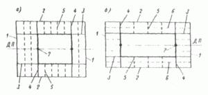 Конструктивные схемы палубного набора