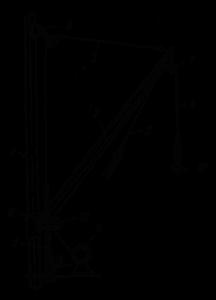 Схема легкой стрелы