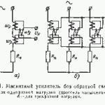 Устройство и принцип действия магнитного усилителя