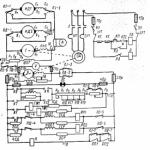Схема управления брашпиля по системе Г-Д.